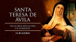 THURSDAY, WEEK XXVIII, ORDINARY TIME—Saint Teresa of Ávila, Doctor of the Church, October 15