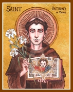 SATURDAY, WEEK X, ORDINARY TIME—Saint Anthony of Padua