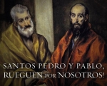THE SOLEMNITY OF PETER & PAUL, June 29